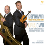 CD Cover: Gershwin: Music for Violin and Piano